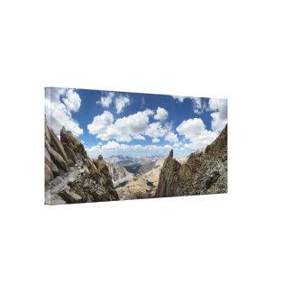 Toile Traînée de Mt Whitney - traînée de John Muir