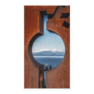 Toile Trou de la serrure à Tongariro