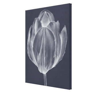 Toile Tulipe monochrome I