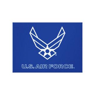 Toile U.S. Logo de l'Armée de l'Air - bleu