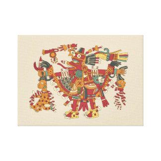 Toile Un dieu aztèque