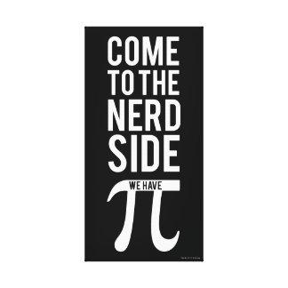 Toile Venez au côté nerd