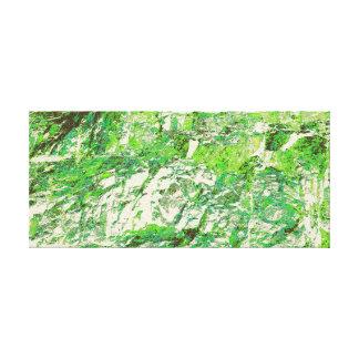 Toile Verts