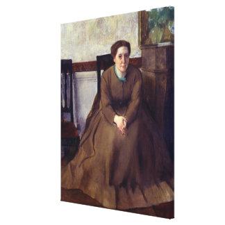 Toile Victoria Dubourg par Edgar Degas