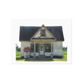 Toile Vieille boutique traditionnelle en Caroline du Sud