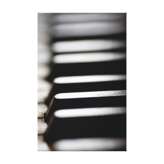 Toile Vieilles clés de piano