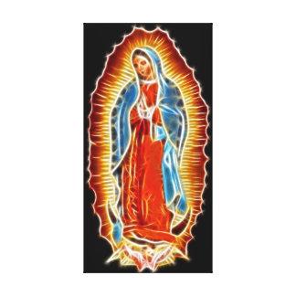 Toile Vierge de Guadalupe