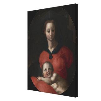 Toile Vierge et enfant, connus sous le nom de Madonna