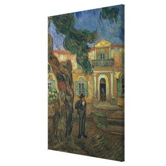 Toile Vincent van Gogh hôpital de | St Paul, St Remy