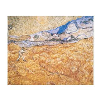 Toile Vincent van Gogh | la moissonneuse