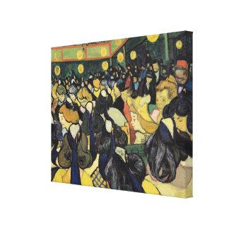 Toile Vincent van Gogh   la salle de danse chez Arles,