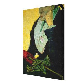 Toile Vincent van Gogh   L'Arlesienne, détail, 1888