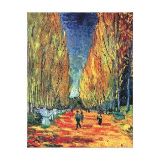 Toile Vincent van Gogh - Les Alyscamps