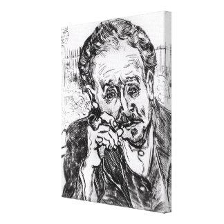 Toile Vincent van Gogh | l'homme avec le tuyau