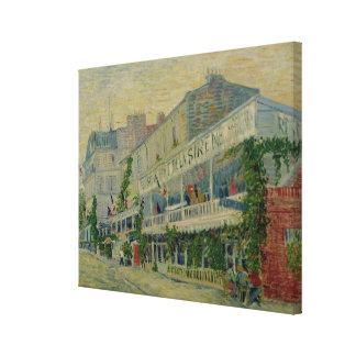 Toile Vincent van Gogh | Restaurant de la Sirene