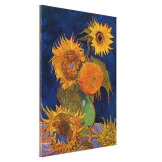 Toile Vincent van Gogh six beaux-arts GalleryHD de