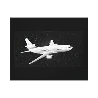 Toile Vol de nuit DC-10