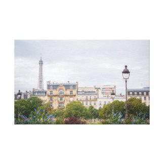 Toile Vue 001 de Tour Eiffel