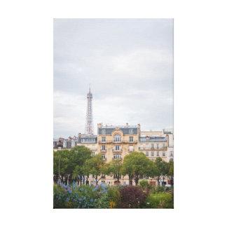 Toile Vue 002 de Tour Eiffel