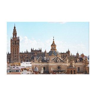 Toile Vue de cathédrale de Séville