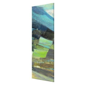 Toile Vue de la copie   abstraite 7 de la côte II