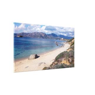 Toile vue panoramique de villasimus