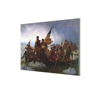 Toile Washington croisant le Delaware par Emanuel Leutze