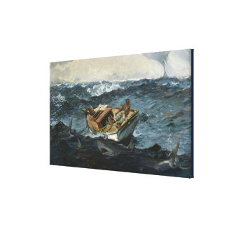 Toile Winslow Homer vintage le Gulf Stream