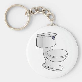 Toilette Porte-clé Rond