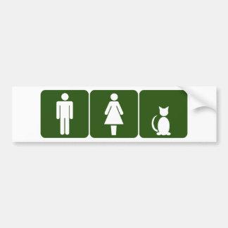 Toilettes de chat adhésif pour voiture