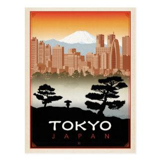 Tokyo, Japon Carte Postale