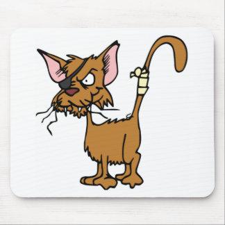 Tom de combat égaré tapis de souris