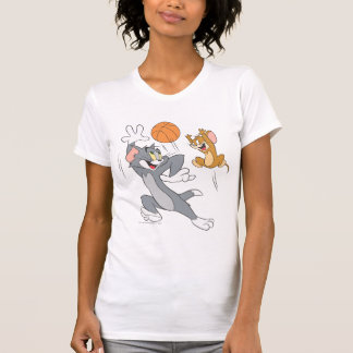 Tom et basket-ball 1 de Jerry T-shirt
