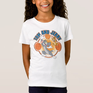 Tom et basket-ball 4 de Jerry T-Shirt