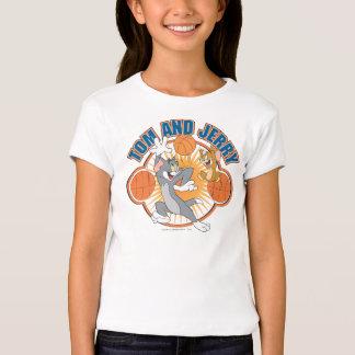 Tom et basket-ball 4 de Jerry T-shirts