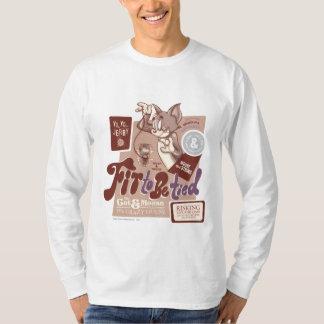 Tom et Jerry adaptés pour être attaché T-shirt