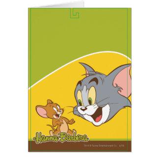 Tom et Jerry Carte De Vœux