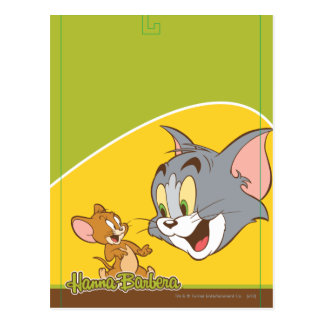 Tom et Jerry Carte Postale