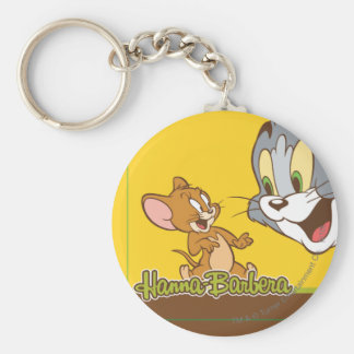 Tom et Jerry Porte-clé Rond