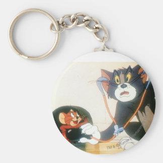 Tom et Jerry Stethescope Porte-clé Rond