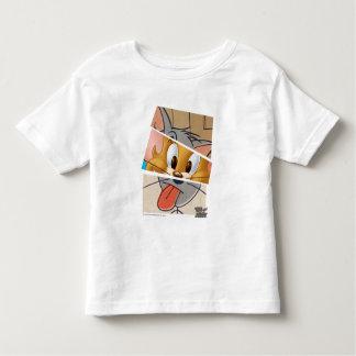 Tom et Jerry   Tom et Jerry Mashup T-shirt Pour Les Tous Petits