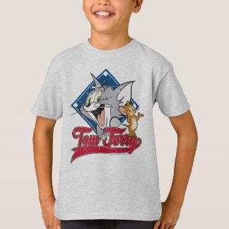 Tom et Jerry   Tom et Jerry sur le diamant de T-shirt