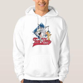 Tom et Jerry | Tom et Jerry sur le diamant de Veste À Capuche