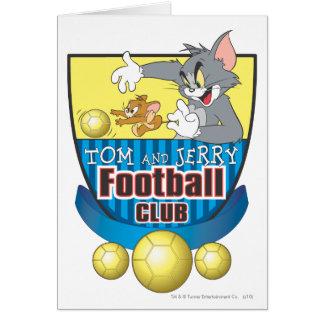 Tom et le football de Jerry (le football) 5 Cartes