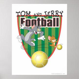 Tom et le football de Jerry (le football) 6 Affiche