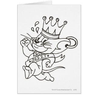 Tom et le Roi Jerry de Jerry Carte De Vœux