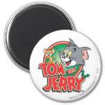 Tom et logo de classique de Jerry magnets