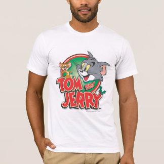 Tom et logo de classique de Jerry T-shirt