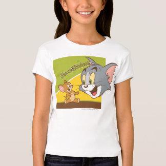 Tom et logo de Jerry Hanna Barbera T-shirt