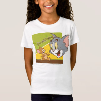 Tom et logo de Jerry Hanna Barbera T-Shirt